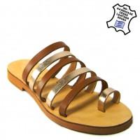 γυναικεια καλοκαιρινα παπουτσια ΠΑΝΤΟΦΛΑΚΙ ΔΕΡΜΑΤΙΝΟ ΣΙΝΔΟΣ 3cebd4aaf62
