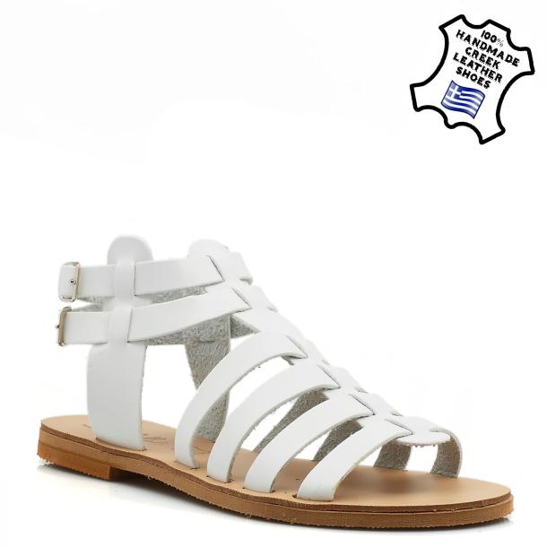 γυναικεια καλοκαιρινα παπουτσια-ΠEΔΙΛΟ ΔΕΡΜΑΤΙΝΟ (ΛΕΥΚΟ) d1ec34e8cae